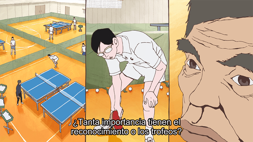 ping pong the animation reseña
